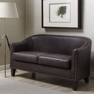 Andover Mills Courtney Banquette Loveseat