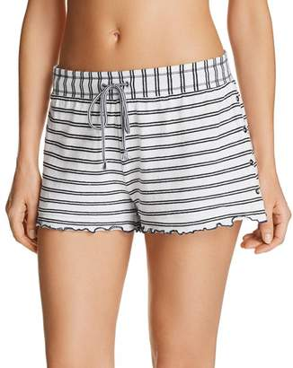 Splendid Stripe Knit Pajama Shorts
