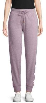 Andrew Marc Star Printed Joggers