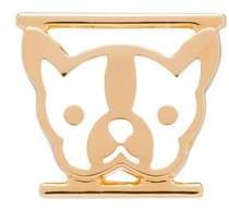 Prada Symbols Metal Bulldog Charm