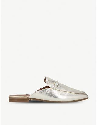 Nine West Walkos metallic leather loafers