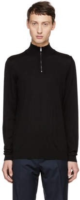 BOSS Black Banello-P Zip Troyer Sweater