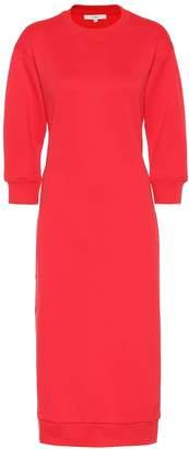 Tibi Cotton-blend sweatshirt dress