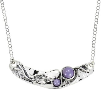 Hagit Sterling Necklace with Cultured Freshwater Pearls