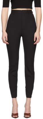 DSQUARED2 Black Tropical Wool Nancy Trousers