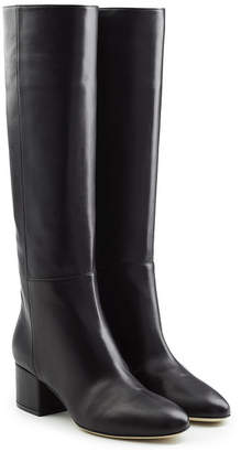 Sergio Rossi Virginia Leather Knee Boots