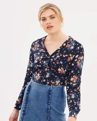 Oasis Bouquet Long Sleeve Shirt