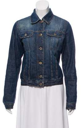 Dolce & Gabbana Long Sleeve Denim Jacket