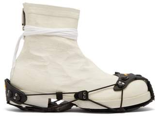 Alyx Detachable Sole Coated Boots - Mens - Cream