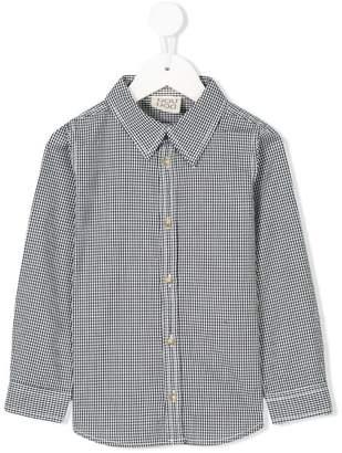Douuod Kids classic check shirt