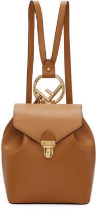 Fendi Brown F is Backpack