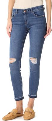 DL1961 Margaux Instasculpt Ankle Skinny Jeans $208 thestylecure.com