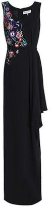 Emilio Pucci Asymmetric Embellished Silk-Crepe Gown