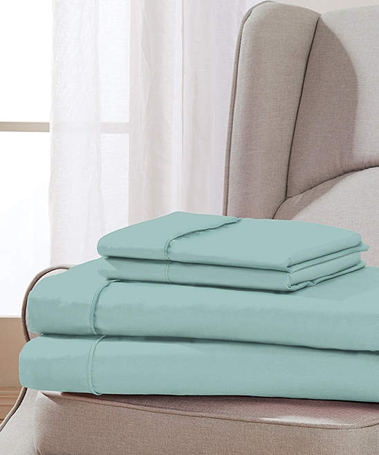 Aqua Golden Nights Sheet Set