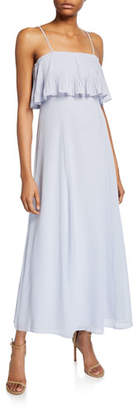 Club Monaco Queelyie Popover Bodice Sleeveless Midi Dress
