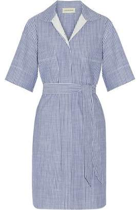 By Malene Birger Olali Striped Cotton Shirt Dress