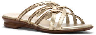 Italian Shoemakers Dolley Jeweled Sandals