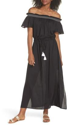 Echo Off the Shoulder Cover-Up Dress