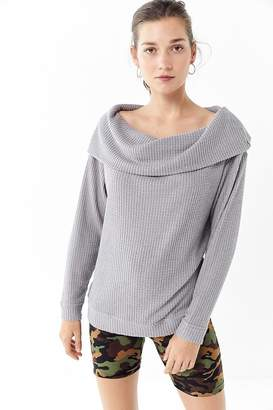 Out From Under Carlee Thermal Cowl Neck Top