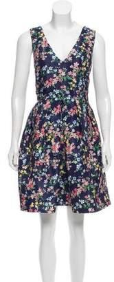 Erin Fetherston Floral Print Knee-Length Dress