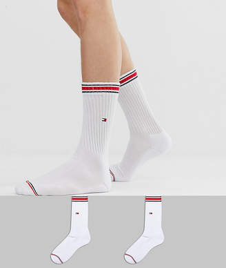Tommy Hilfiger heritage crew sock in 2 pack