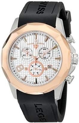 Swiss Legend Men's 10042-02S-RB Monte Carlo Analog Display Swiss Quartz Black Watch