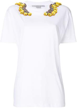 Stella McCartney sequin-embellished T-shirt
