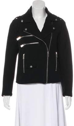 Anine Bing Zip-Up Biker Jacket