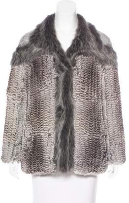 Hockley Embellished Fur Jacket
