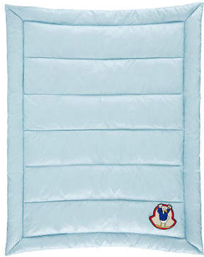Moncler Quilted Down-Blend Baby Blanket