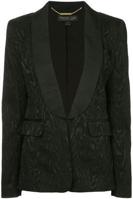 Rachel Zoe shawl lapel jacquard blazer