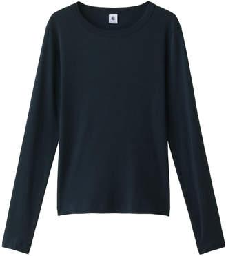 Petit Bateau (プチ バトー) - プチバトー クルーネック長袖Tシャツ