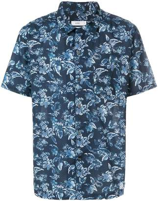 Closed floral print shirt