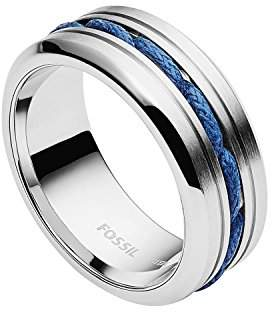 Fossil Men's Silver Ring JF02680040 Br59huZ2Cs
