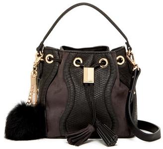 Steve Madden BGraham Faux Leather Mini Bucket Bag $78 thestylecure.com
