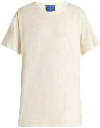 Gucci X Bob Mackie cotton T-shirt