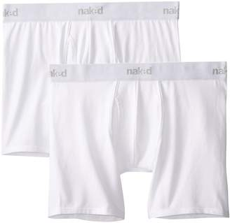 Naked Men's 2-Pack Essentials Boxer Brief