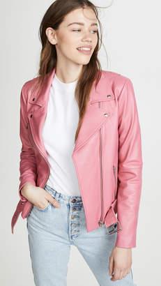 Veda Jayne Smooth Leather Jacket