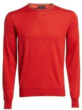 Saks Fifth Avenue COLLECTION Wool& Silk Pullover