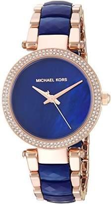 Michael Kors Women's 'Mini Parker' Quartz Stainless Steel Casual Watch