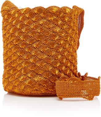 Verdi Mochila Copper Bucket Shoulder Bag
