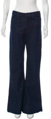Acne Studios Mid-Rise Wide-Leg Jeans