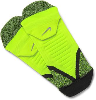 Nike Elite Cushioned Dri-FIT Running Socks $16 thestylecure.com