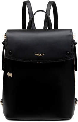 Radley London Small Flapover Leather Backpack