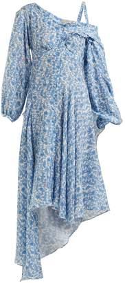 Preen by Thornton Bregazzi Soeroya floral-print silk-blend dress