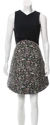 Proenza Schouler Paneled Mini Dress