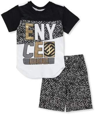 Enyce Little Boys' Toddler 2-Piece Short Set Outfit