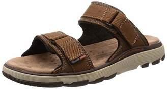 07b1cc43e025 Clarks Men s Un Trek Walk Sling Back Sandals