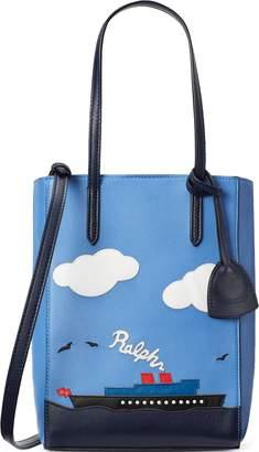 Ralph Lauren Steamboat Mini Modern Tote Bag
