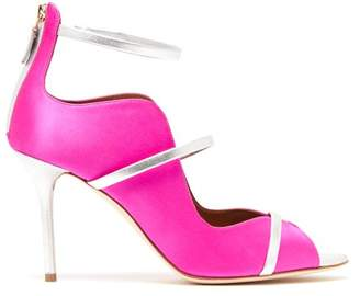 Malone Souliers By Roy Luwolt - Mika Satin Pumps - Womens - Pink Multi